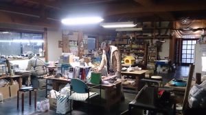 森本先生の工房