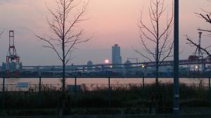夕日が沈む頃・・・