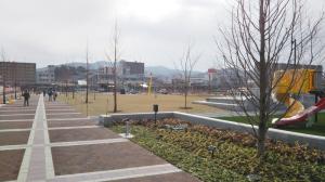 変わりつつある亀岡駅北側