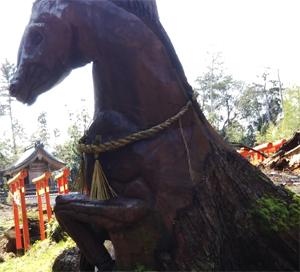 境内に、馬??