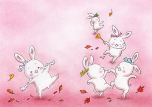 うさぎのダンス